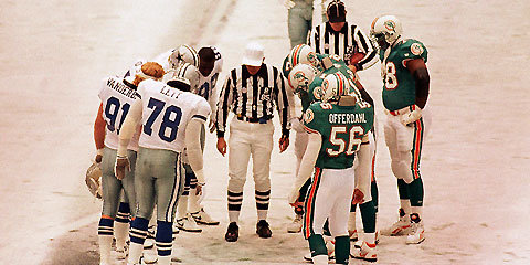 Miami vs. Dallas, Thanksgiving 1993